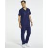 Kép 3/3 - JERUM 4 zsebes egyenes szárú férfi orvosi nadrágötétkék