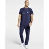 Kép 4/4 - OLIVER kerek nyakú prémium férfi orvosi felső ötétkék