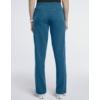 Kép 2/4 - JOLIE 5 zsebes egyenes szárú sztreccs orvosi nadrág - karibi kék