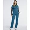 Kép 3/4 - JOLIE 5 zsebes egyenes szárú sztreccs orvosi nadrág - karibi kék