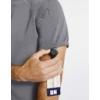 Kép 2/5 - OLIVER kerek nyakú prémium férfi orvosi felső zürke