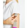 Kép 4/5 - PONTE peplum szabású női munkaruha tunika - fehér