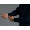 Kép 2/4 - RUGGERO prémium szaténpamut férfi hosszú ujjú egészségügyi felső öltözet - kék