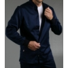 Kép 4/4 - RUGGERO prémium szaténpamut férfi hosszú ujjú egészségügyi felső öltözet - kék