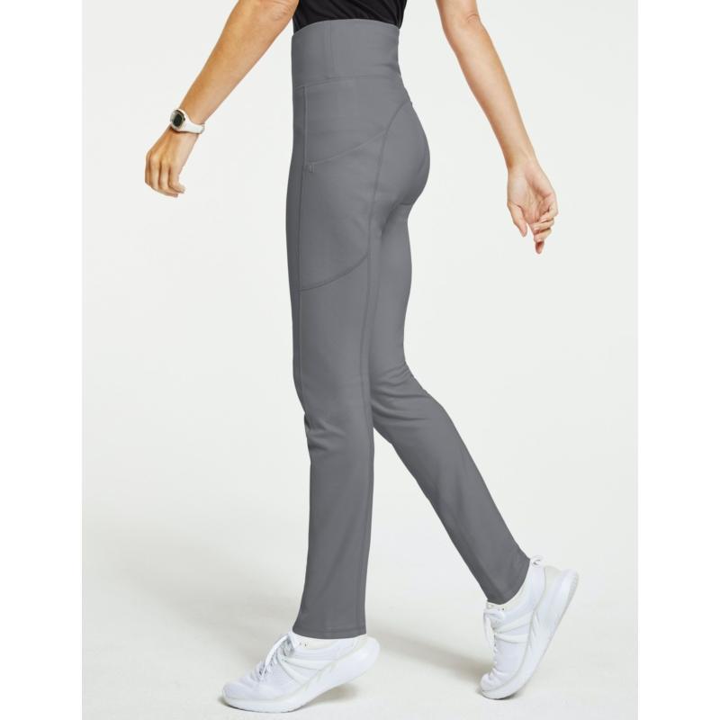 DAISY magas derekú yoga ihletésű női munkaruha nadrág zürke