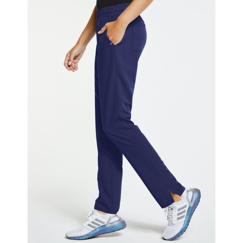 JOLIE 5 zsebes egyenes szárú sztreccs orvosi nadrágötétkék