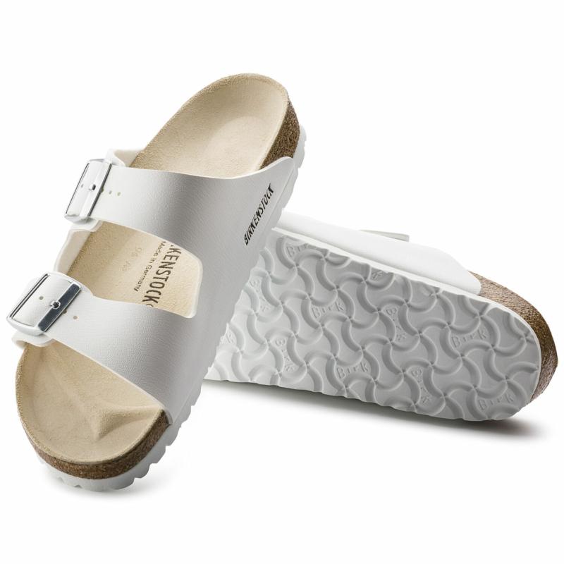BIRKENSTOCK Arizona Classic unisex papucs - ezüst csattal