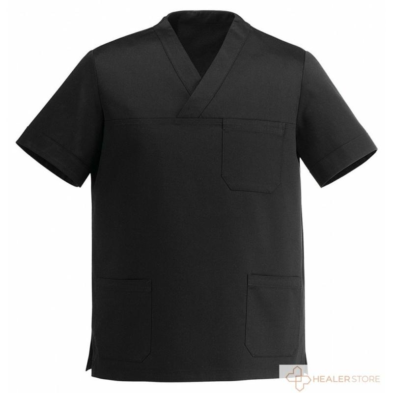 leonardo-fekete-uniszex-v-kivagasu-orvosi-mutos-felso-healerstore.jpg