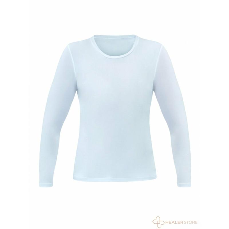 LUCREZIA hosszú ujjú stretch felső aláöltözet - fehér